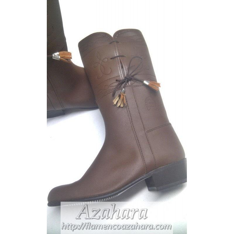 zapatos deportivos f5d00 6fac9 Botas Camperas Niño Cordones - Flamenco Azahara