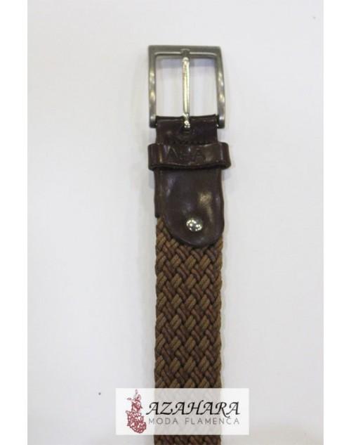 Cinturón trenzado