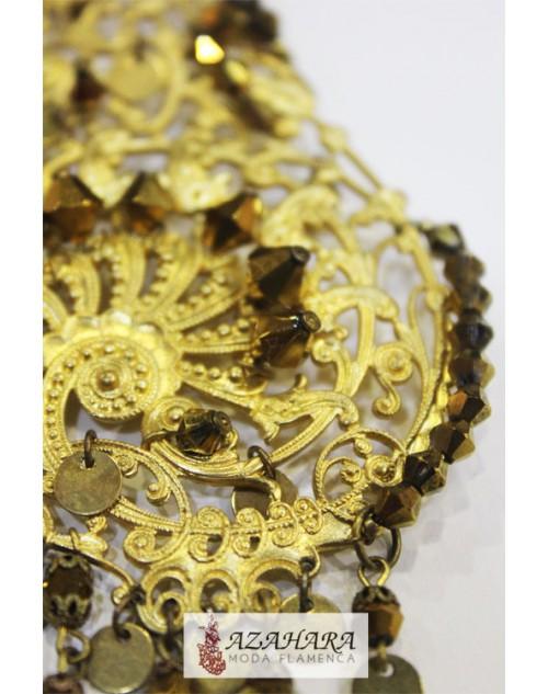 Pendientes dorados