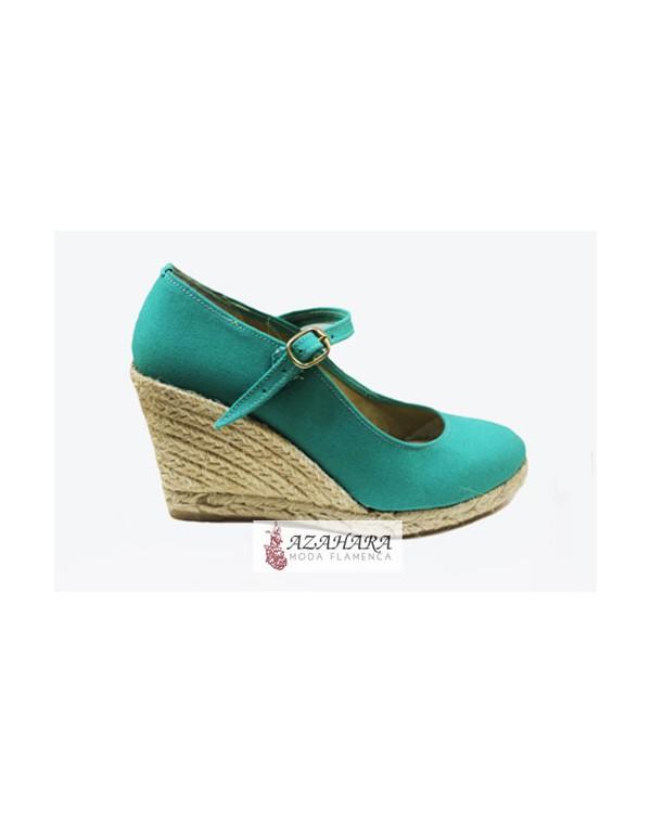 Mejor precio fecha de lanzamiento 100% autentico Zapatos de esparto para vestir de flamenca.