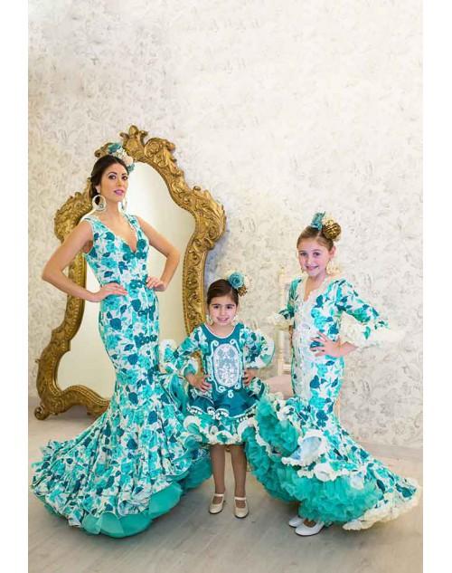 bueno gran calidad venta de tienda outlet trajes de flamenca de Teresa Ninú, moda flamenca infantil y de ...